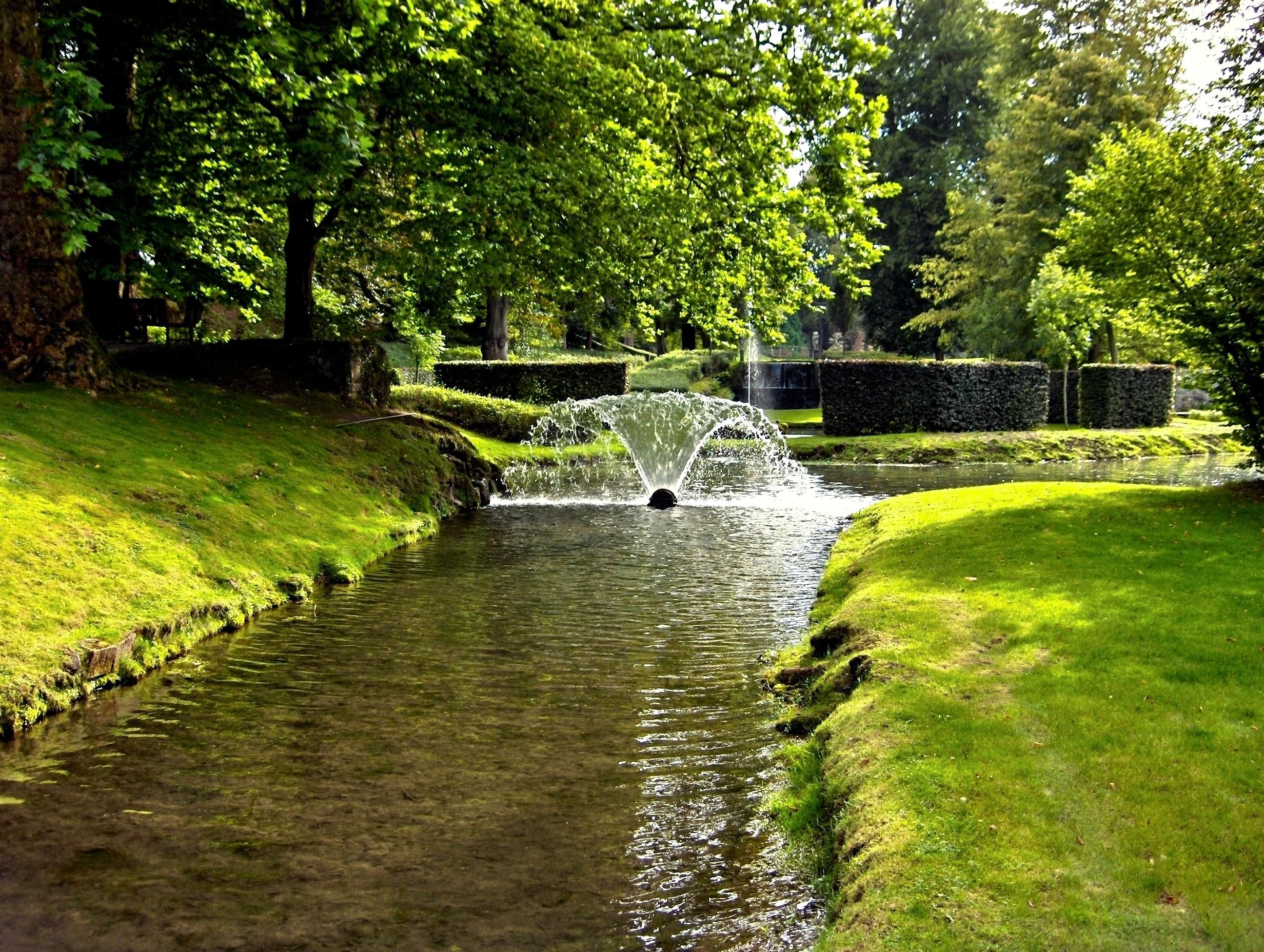 Les jardins d annevoie 1 echos du terroir et d 39 ailleurs for Jardin belgique