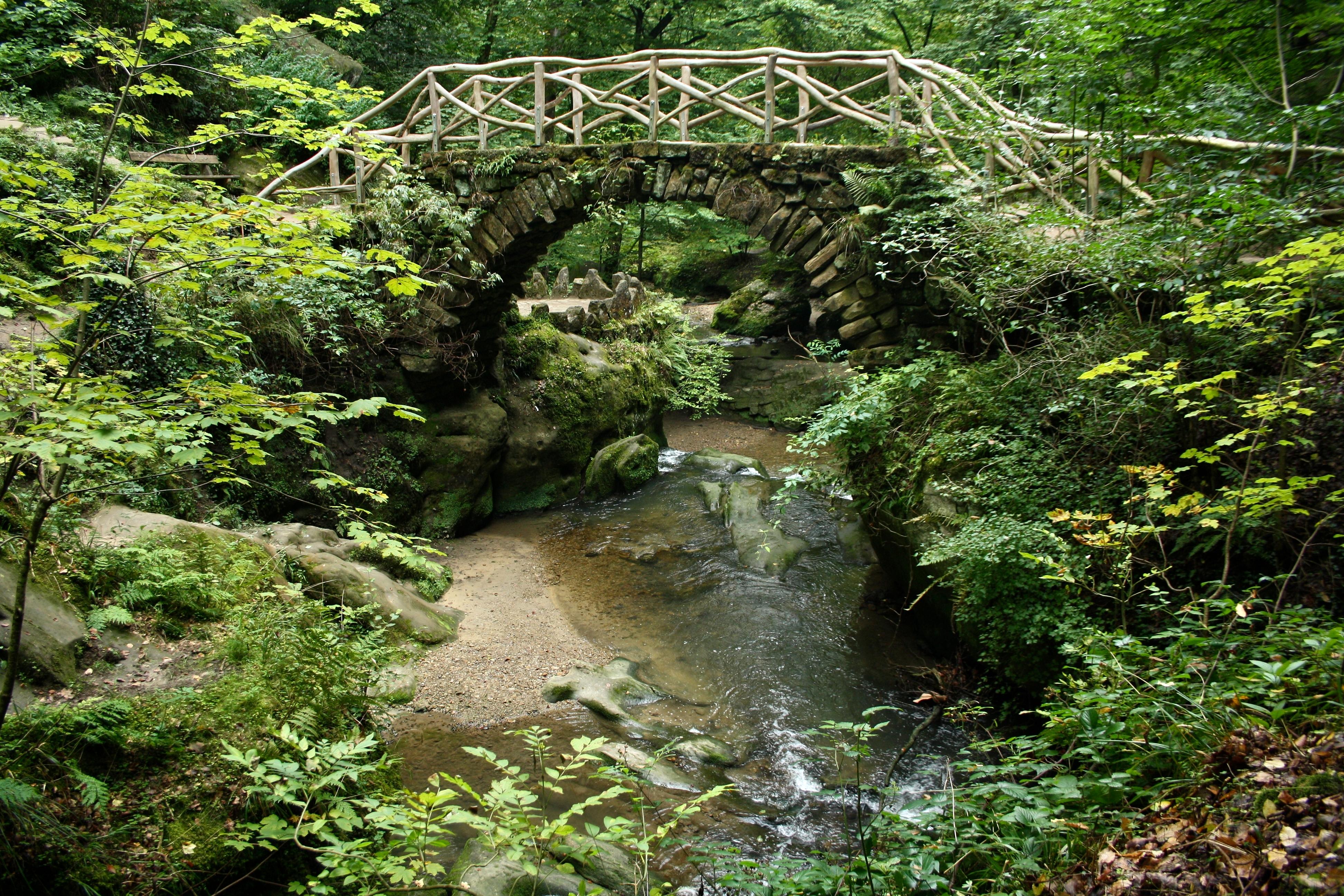 Dans la petite suisse luxembourgeoise 5 un pont sur l - Chambre d hote luxembourg petite suisse ...